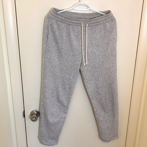H&M Plush Jogger Pants /Pajama Trousers Light Grey